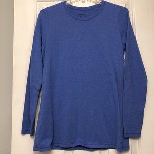Blue Champion Long Sleeve Top